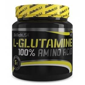 100% L-glutamine Biotech USA 240g