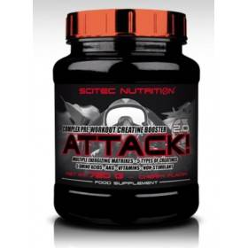 Booster Creatine Attack 2.0 Scitec Nutrition 720 g