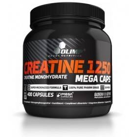 Creatine 1250 Mega Caps Olimp Nutrition 400caps