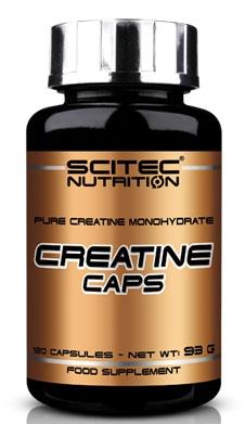 100% Creatine 120 caps Scitec Nutrition