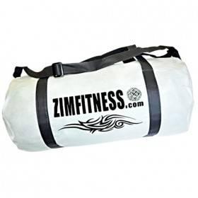 Sac de sport Tribal Zimfitness Blanc. Matière : Non-tissé 80 gr/m²
