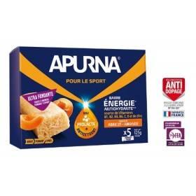 Boite 5 barres énergie fondante Apurna