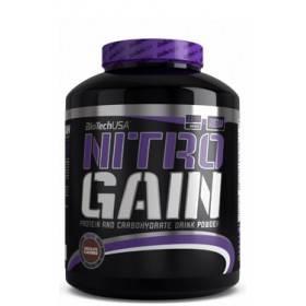 Gainer Nitro Gain Nouvelle formule Biotech USA 2270g