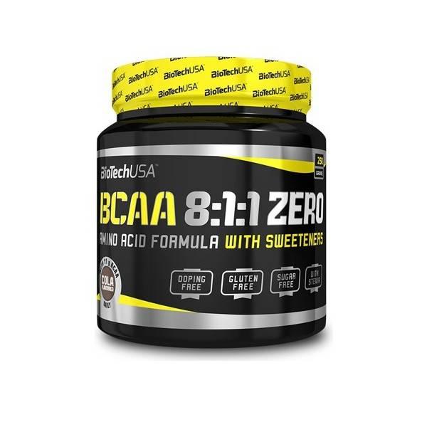 BCAA 8.1.1 Zero Biotech USA 250g