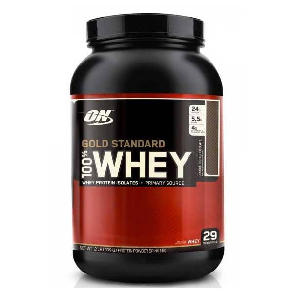 100% Whey Gold standard Optimum Nutrition 908g