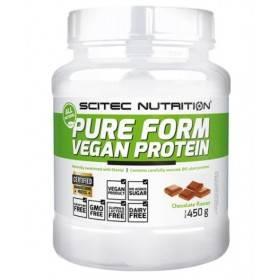 Pure Form Vegan Protein 450g Scitec