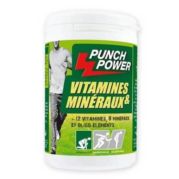 Vitamines et Mineraux Punch Power 60caps