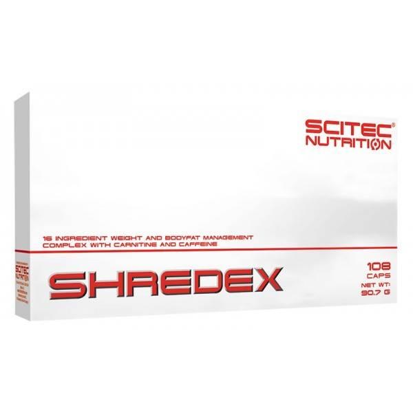 shredex scitec nutrition 108 caps