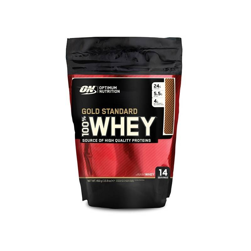 100% Whey Gold standard Optimum Nutrition 450 g