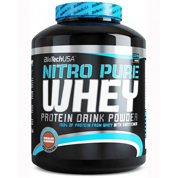 Nitro Pure Whey Biotech USA 2270g