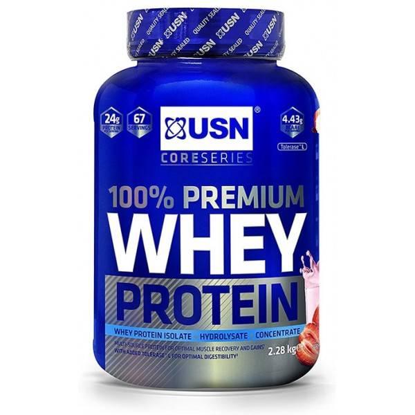 100% Prenium Whey USN Nutrition 2280g