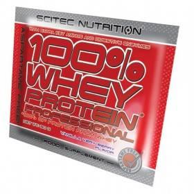 Whey Protein Professionnal Scitec Nutrition sachet de 30g