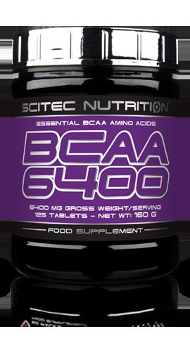 BCAA 6400 en 125 tablettes Scitec Nutrition
