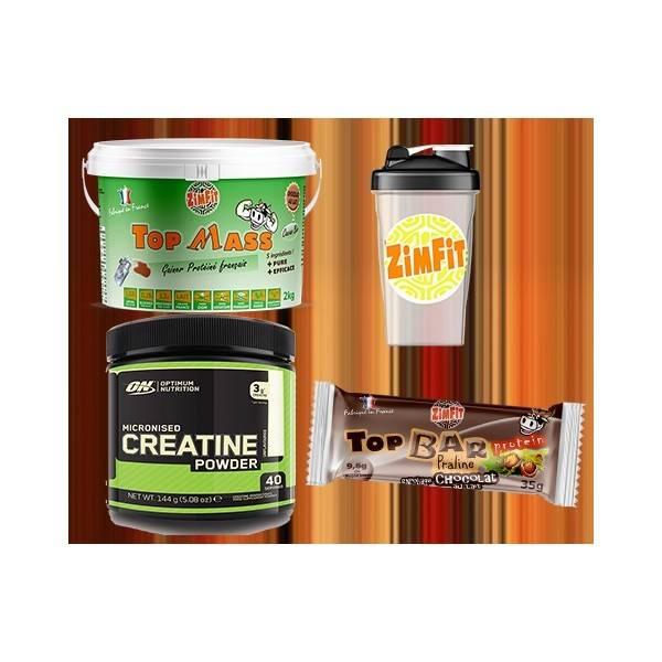 Creatine Optimum 144G + Shaker Reservoir + 1 Top Bar Protein