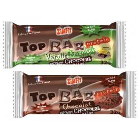 Barre Top Bar Protein Low Carb Zimfit 32g