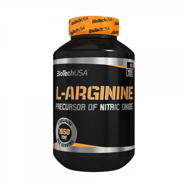 L Arginine Biotech USA 90 Capsules