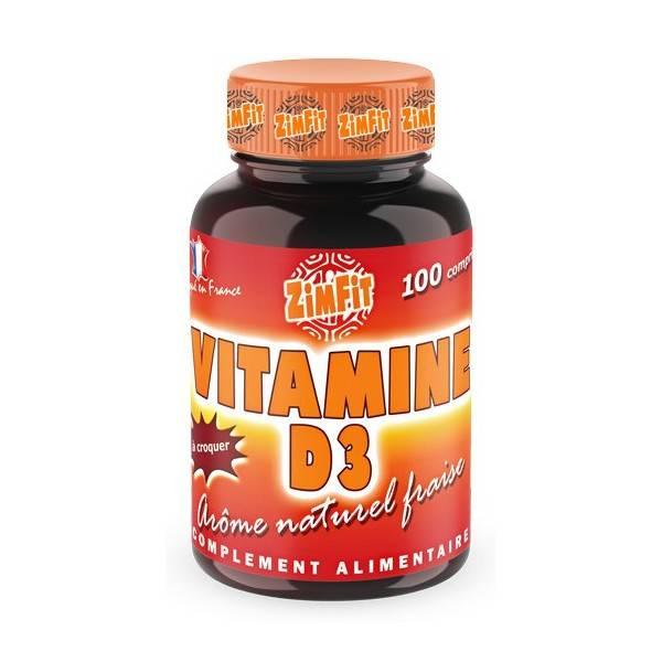 Vitamine D3 100 caps Zimfit