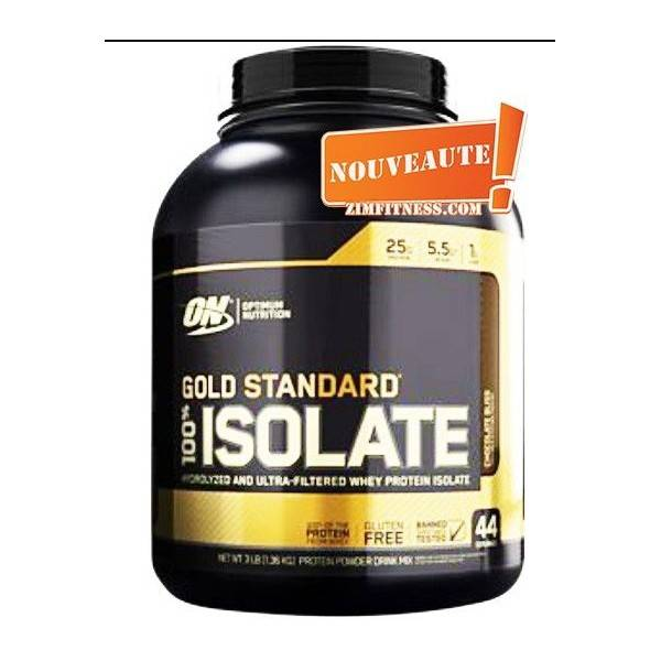 GOLD STANDARD ISOLATE OPTIMUM NUTRITION 2270g