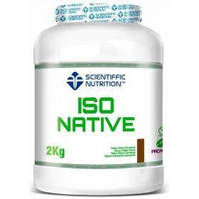 ISO NATIVE WHEY Scientific Nutrition 2kg