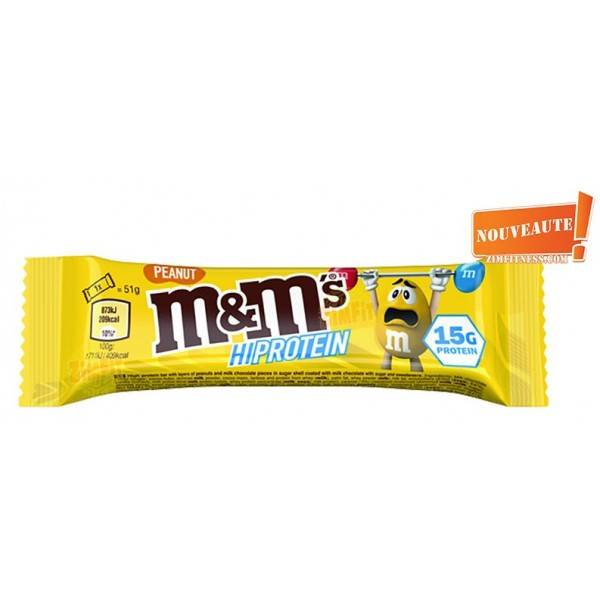 Barre M&M'S Protein 51g