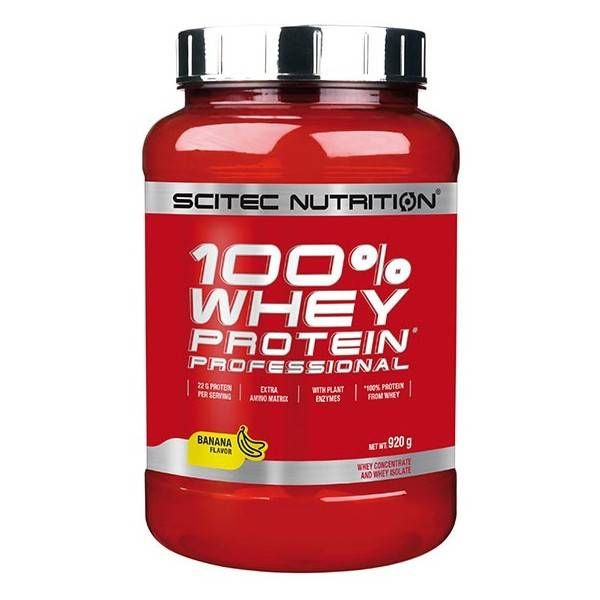 100% Whey Protein Professional 920g Scitec Nutrition