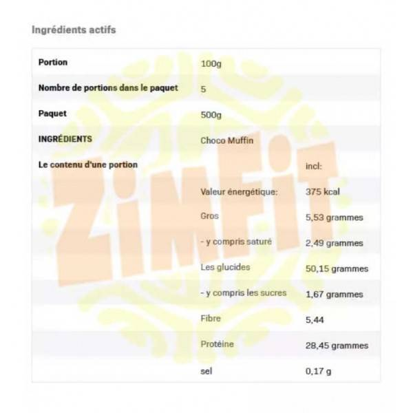 Choco Muffin All Nutrition 500g