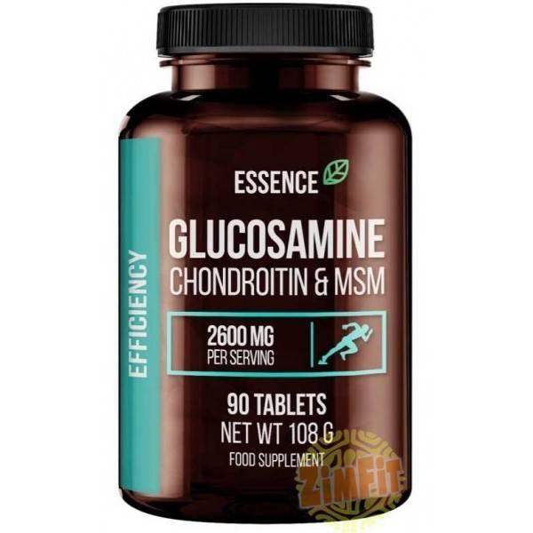 Glucosamine Chondroitin & MSM Essence Nutrition 90 caps