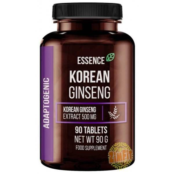 Korean Ginseng 500mg Essence Nutrition 90 caps