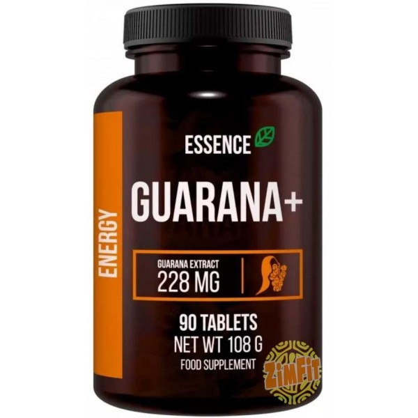 Guarana + 228mg Essence Nutrition 90 caps