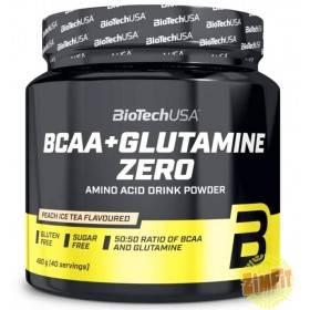 BCAA Glutamine Zero Biotech USA 480g
