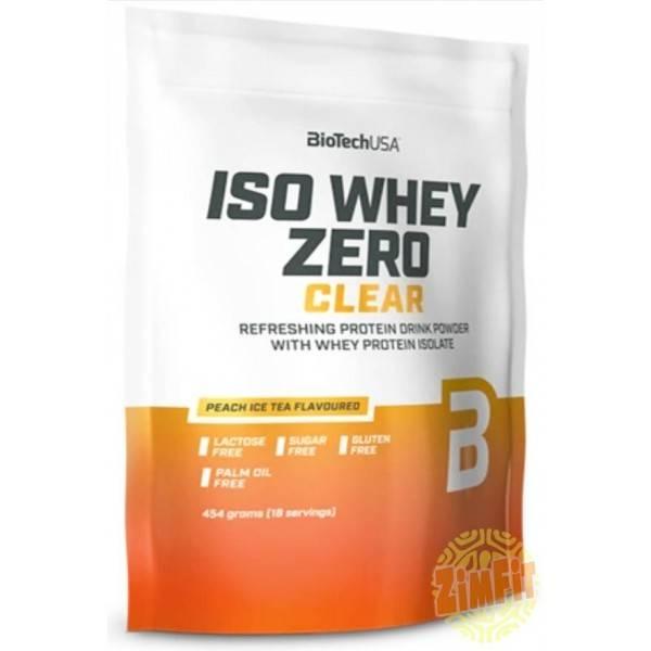 Iso Whey Zero Clear Biotech USA 454g