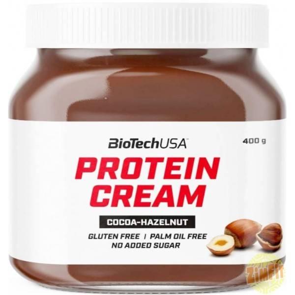 Protein Cream Choco noisette Biotech USA 400g