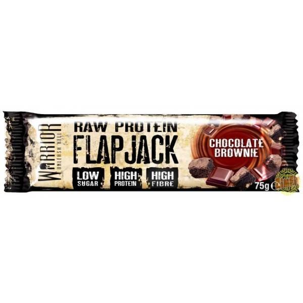 Raw Protein Flapjack WARRIOR 75g (choix parfum Zimfit)