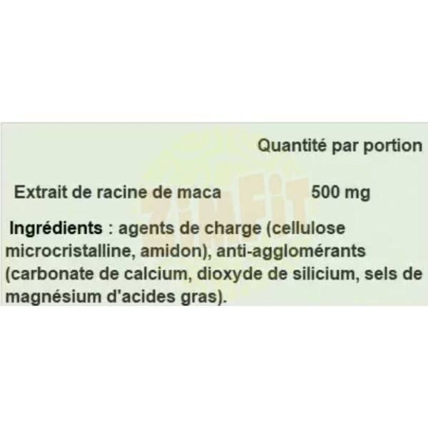 MACA 500mg Essence Nutrition 90 caps
