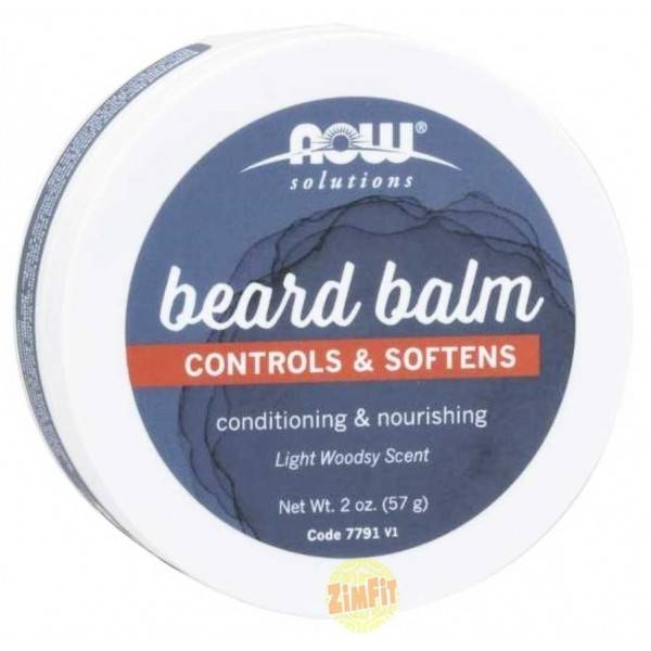 Beard Balm Baume à barbe Now Foods 57g