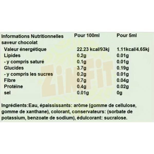 Zero Syrup XXL Nutrition 425ml