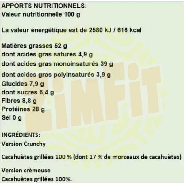 100% Peanut Butter Super Diet Activlab 100g