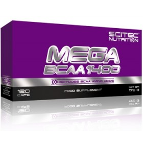 Mega BCAA 1400 Scitec Nutrition 120 caps